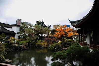 Photograph - Chinese Garden - Vancouver by Perggals - Stacey Turner