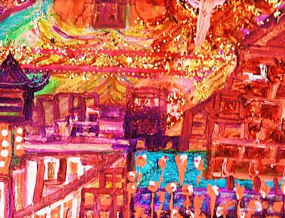 Chinese If You Please New Year Art Print by Anne-Elizabeth Whiteway