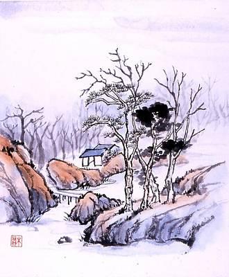 Chinese Landscape Art Print