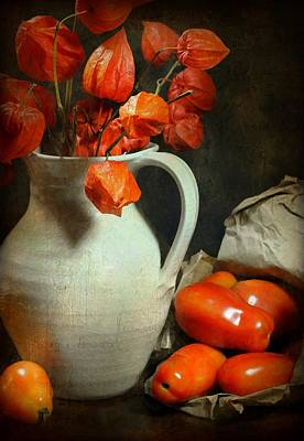 Photograph - Chinese Lanterns by Diana Angstadt