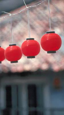 Photograph - Chinese Lanterns by Douglas Pike