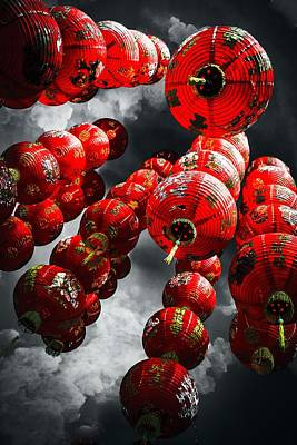 Kim Fearheiley Photography - Smoke and Chinese Lanterns by Karl Anderson