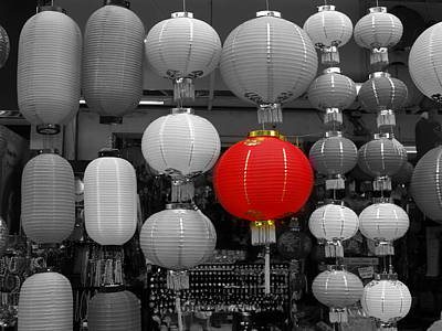 Photograph - Chinese Lanterns by Michael Canning