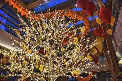 Photograph - Chinese New Year At Aria by Paulette B Wright