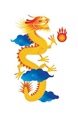 Design Turnpike Books Rights Managed Images - Chinese New Year Dragon Illustration Royalty-Free Image by Jit Lim