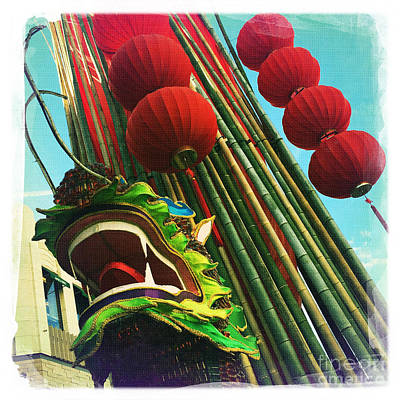 Chinese New Year Art Print by Nina Prommer