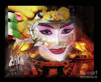 Photograph - Chinese Opera by Tom Griffithe