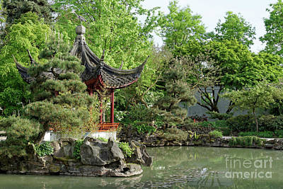 Photograph - Chinese Pagoda 1 Vancouver by John  Mitchell