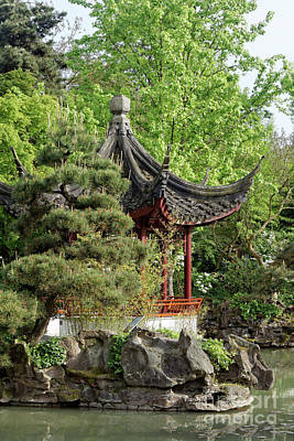Photograph - Chinese Pagoda 2 Vancouver by John  Mitchell