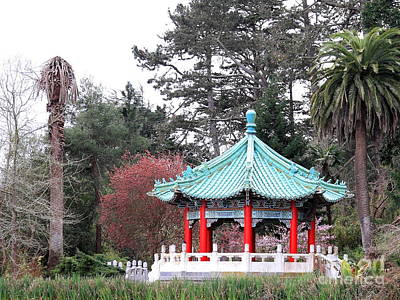 Photograph - Chinese Pavilion 2 by Wingsdomain Art and Photography