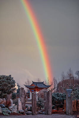 Photograph - Chinese Reconciliation Park Rainbow by Jason Butts