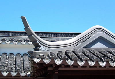 Photograph - Chinese Roof Detail by Douglas Pike