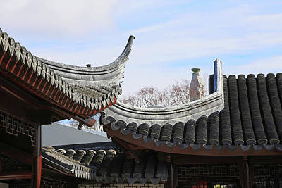 Photograph - Chinese Rooflines by Nareeta Martin