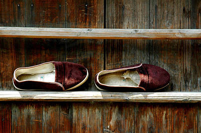 Photograph - Chinese Slippers by Harry Spitz