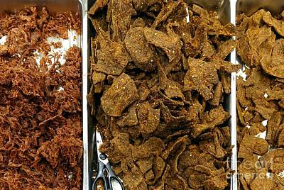 Photograph - Chinese Style Beef And Pork Jerky by Yali Shi