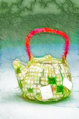 Oriental Teapot Painting - Chinese Teapot 1 by Lanjee Chee