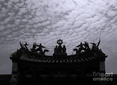 Photograph - Chinese Temple Roof by Yali Shi