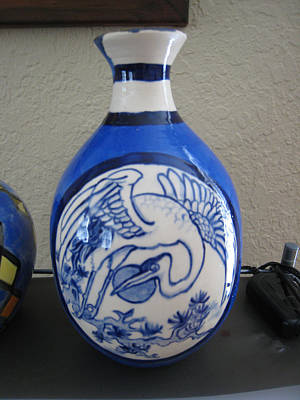 Ceramic Art - Chinese Vase by Deirdre DeLay