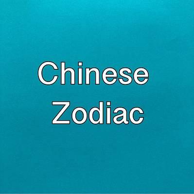 Painting - Chinese Zodiac Logo by Darice Machel McGuire