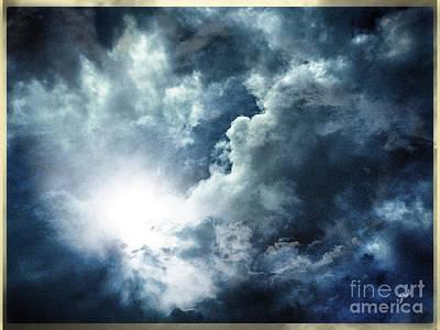 Photograph - Chink Of Light - Spiraglio Di Luce by Zedi