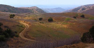 Photograph - Chino Hills South Ridge Trail by Viktor Savchenko