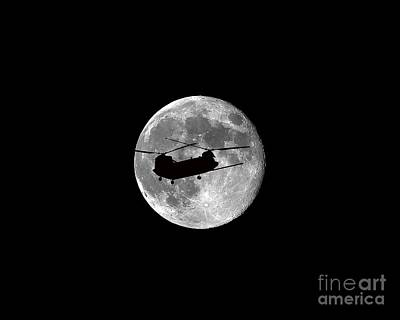 Lunation Photograph - Chinook Moon .png by Al Powell Photography USA