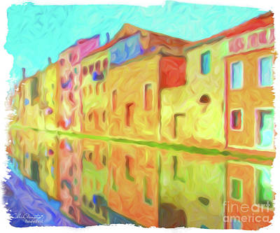 Painting - Chioggia, Italy by Chris Armytage