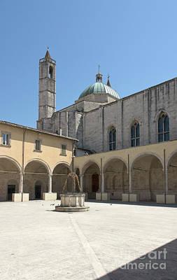 Photograph - Chiostro Maggiore In Ascoli Piceno by Fabrizio Ruggeri