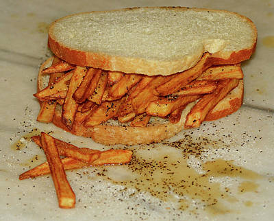 Photograph - Chip Butty by Stuart Harrison
