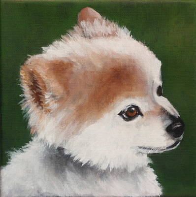 Painting - Chip by Carol Russell