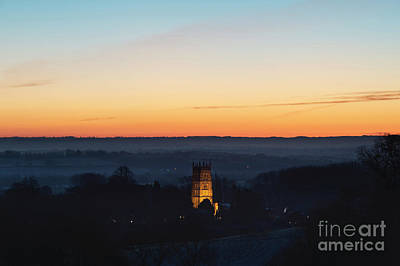 Chipping Campden Church At Dawn Art Print