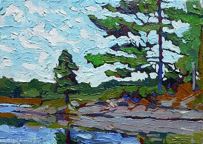 Thousand Islands Painting - Chip's Elbow by Phil Chadwick