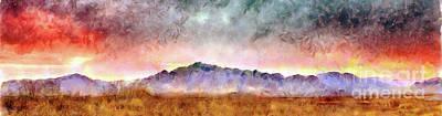 Chiricahua Art Print by Harry Ridgway
