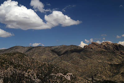 Photograph - Chiricahua Nat Monument Landscape 2 by Mary Bedy