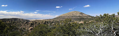 Photograph - Chiricahua Nat Monument Panorama by Mary Bedy