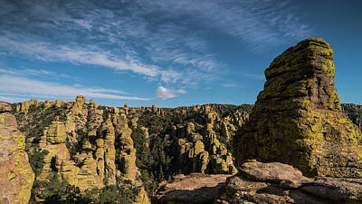 Photograph - Chiricahua National Monument Arizona Hoodoos by Lawrence S Richardson Jr
