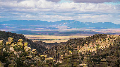 Photograph - Chiricahua National Monument Hoodoos Arizona by Lawrence S Richardson Jr