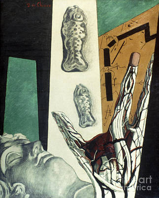 Photograph - Chirico: Arch, 1914 by Granger