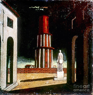Photograph - Chirico: Grand Tour, 1914 by Granger