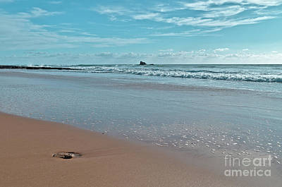 Photograph - Chiringuitos Beach Low Tide In Albufeira by Angelo DeVal