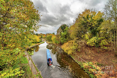 Photograph - Chirk Aqueduct Autumn by Adrian Evans