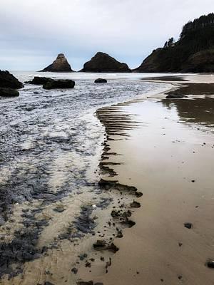 Photograph - Chiseled Beach by Bonnie Bruno