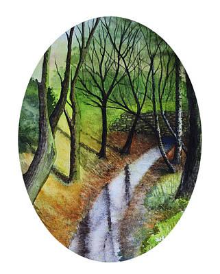 Painting - Chislehurst Woods by Deborah Runham