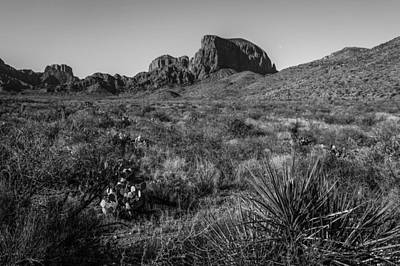 Photograph - Chisos Mountains by Amber Kresge