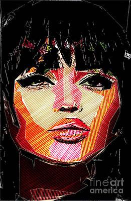 Digital Art - Chiseled Look by Rafael Salazar