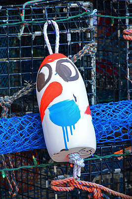 Photograph - Chistmas Buoy Decoration 657 by Mike Martin