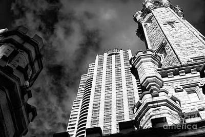Photograph - Chitown Architecture by John Rizzuto