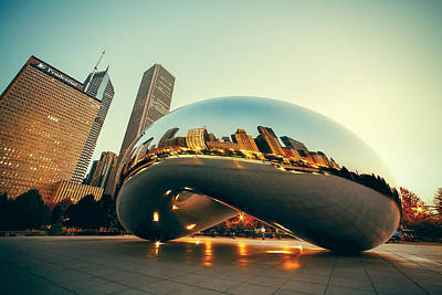 Photograph - Chitown Bean by Todd Klassy