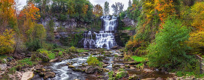 Chittenango Falls Art Print by Mark Papke
