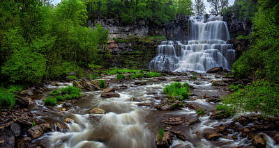 Photograph - Chittenango Falls Spring by Mark Papke